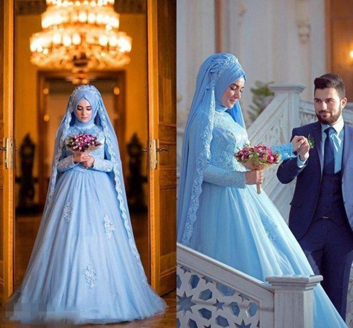 c1e9ba1b0c Bride Tricks  Blue Color for Your Wedding 2019 – WardrobeFocus.com