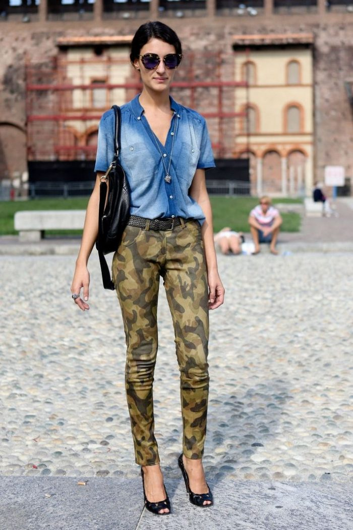 2018 Camouflage Print For Women (11)