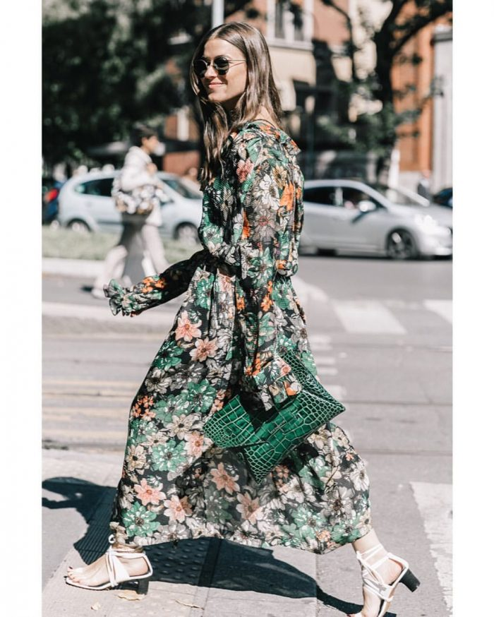 2018 Cold Season Floral Print For Women (2)