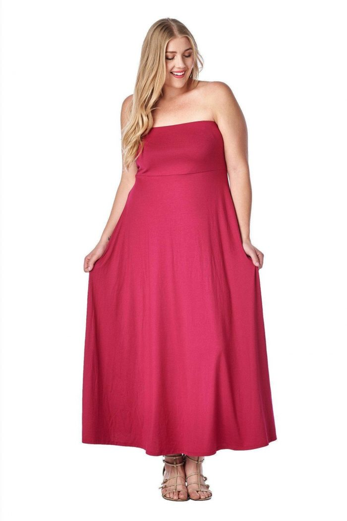 2018 Day To Night Plus Size Dresses For Women (10)