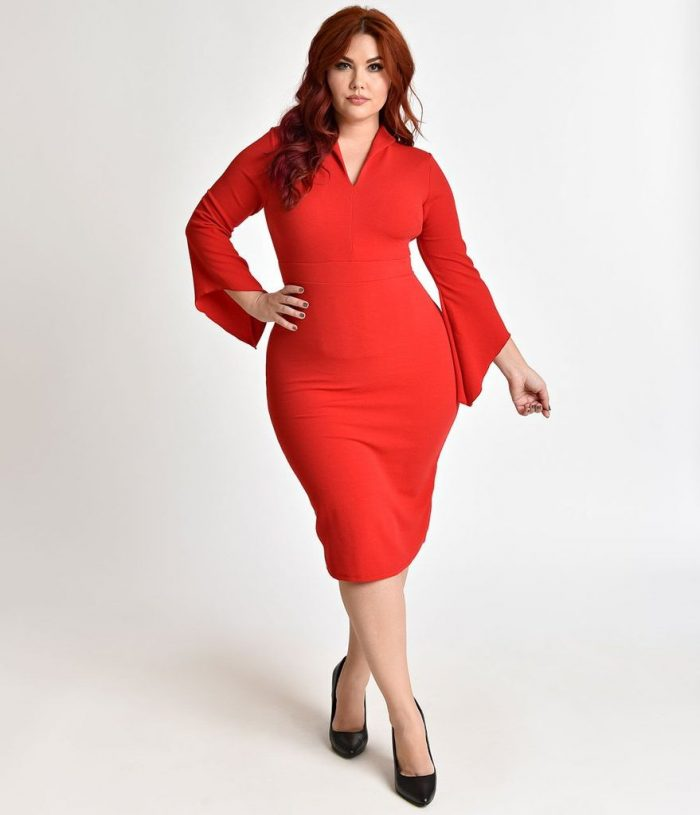 2018 Day To Night Plus Size Dresses For Women (17)
