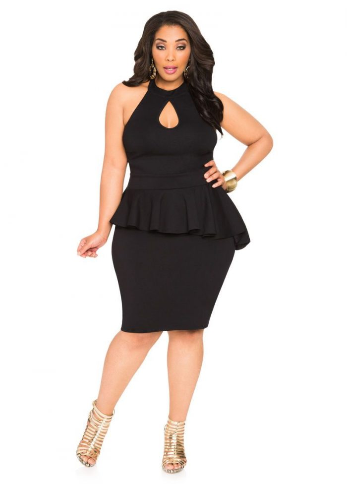 2018 Day To Night Plus Size Dresses For Women (5)
