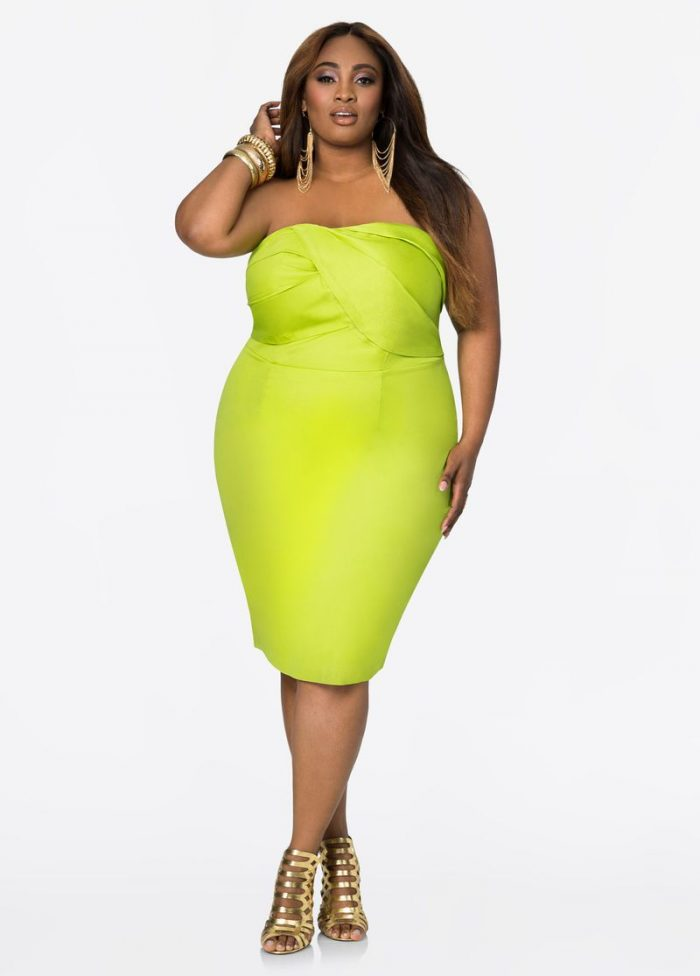 2018 Day To Night Plus Size Dresses For Women (6)