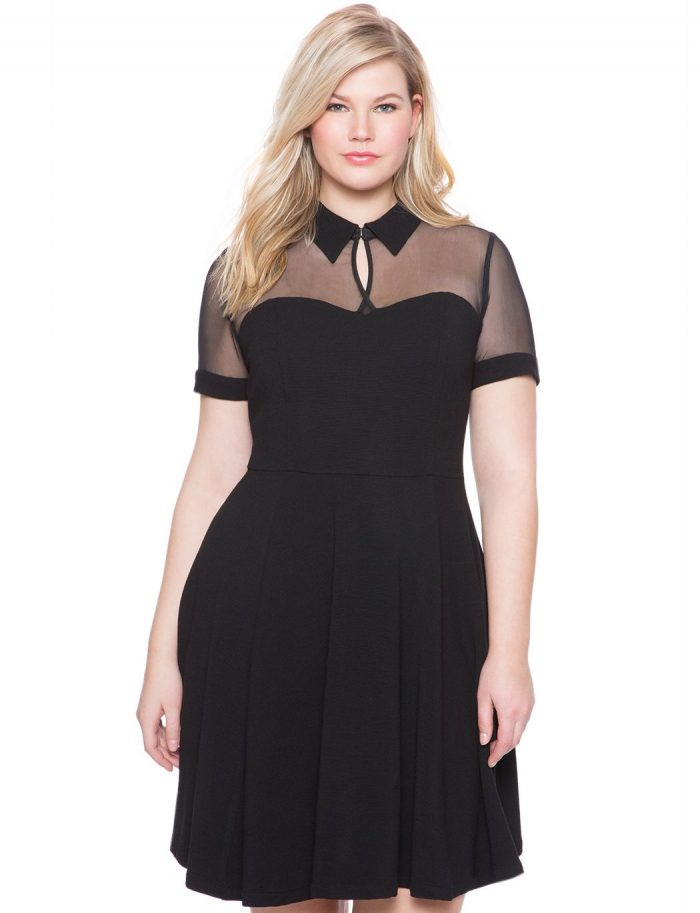 2018 Day To Night Plus Size Dresses For Women (7)