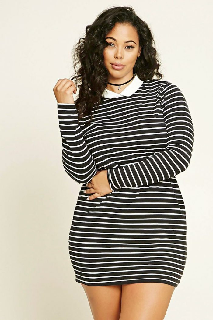 2018 Day To Night Plus Size Dresses For Women (8)