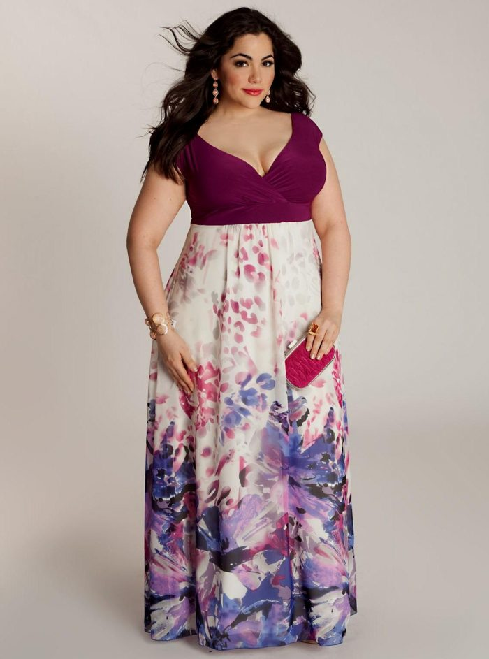 2018 Day To Night Plus Size Dresses For Women (9)