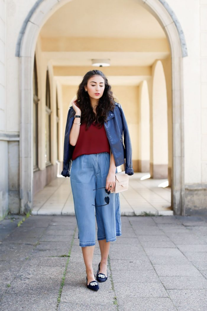 Denim Culottes Is Tricky Fashion Trend 2019