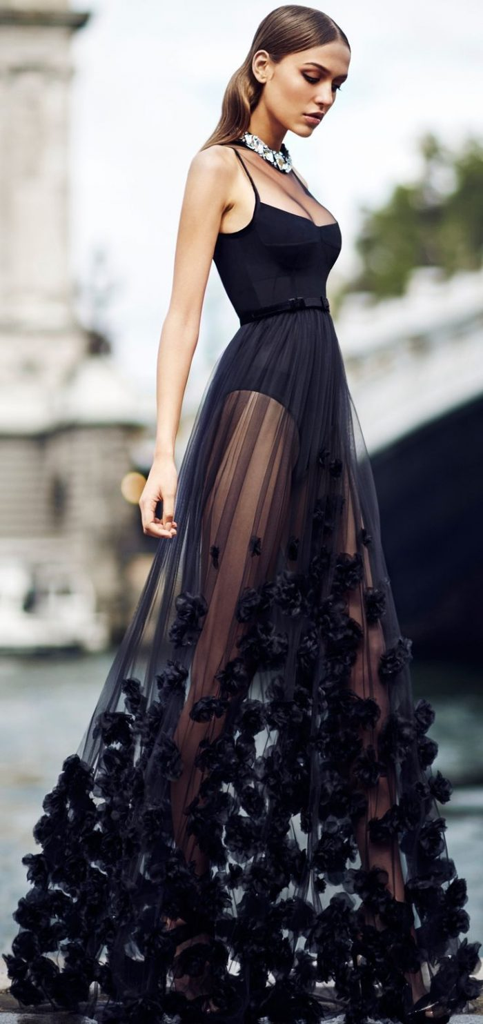 2018 Elegant Dresses And Suits (10)