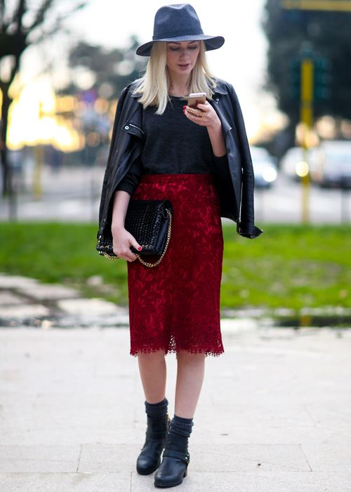 Lace Skirts For Cold Season 2019