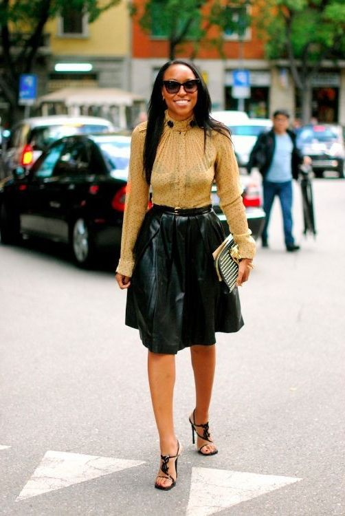 2018 Glamour Leather Skirts (23)