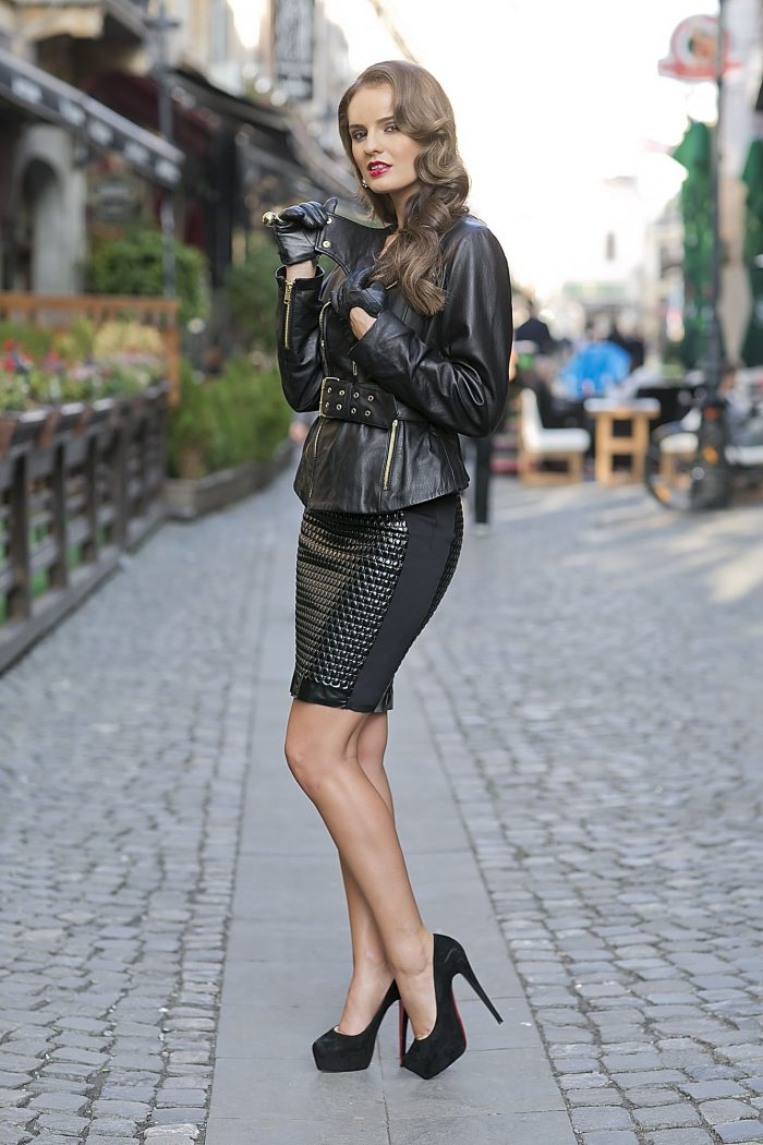 2018 Glamour Leather Skirts (4)