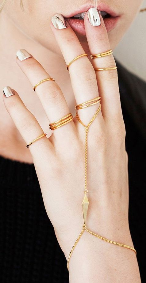 Jewelry Layering To Try Now 2019