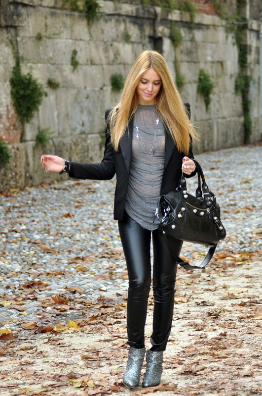 2018 Leather Trousers For Women (13)