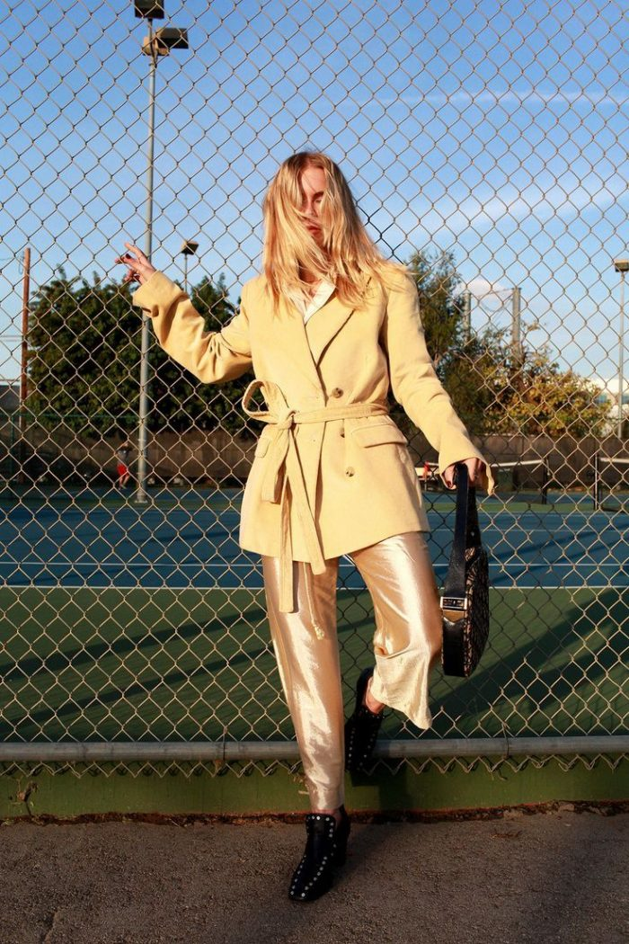 Daytime Metallic Clothes And Accessories For Women 2019
