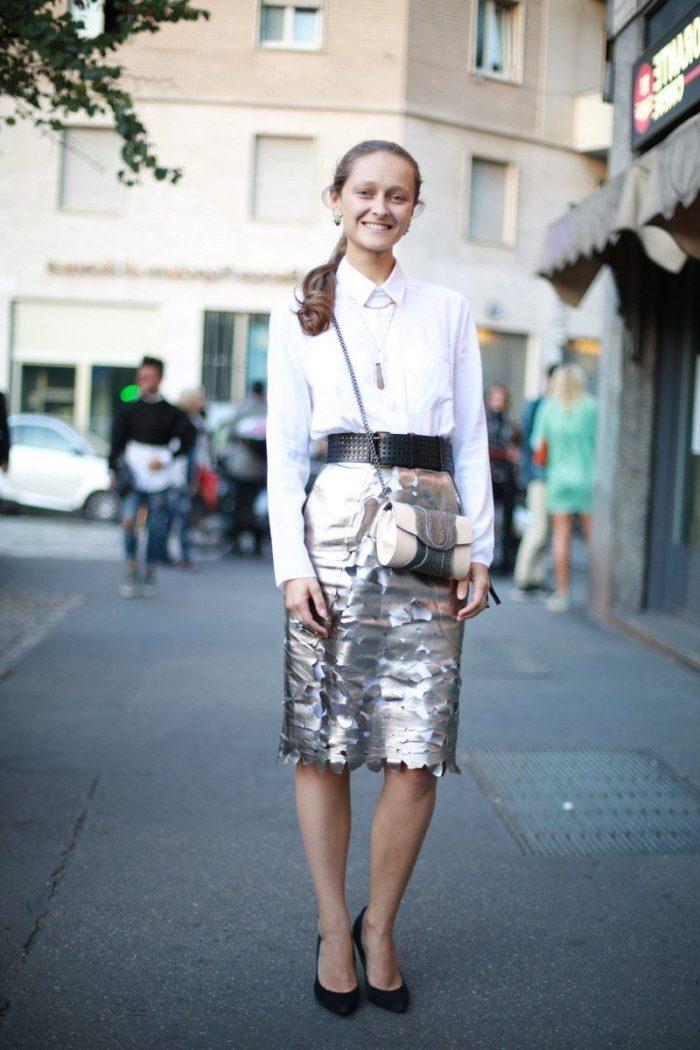 Metallic Fashion Pieces For Women 2019