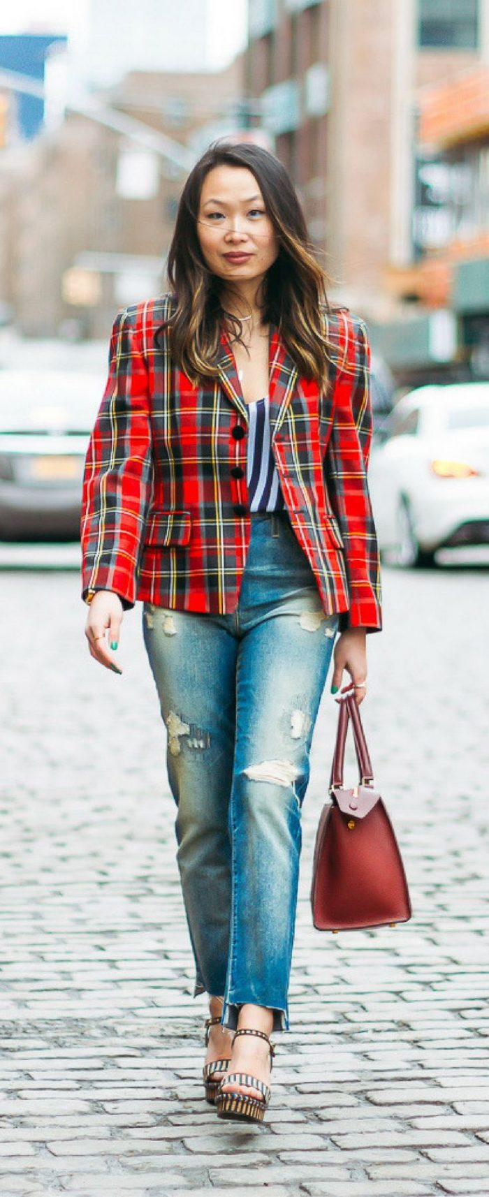 2018 Plaid Print Must Haves For Women (10)