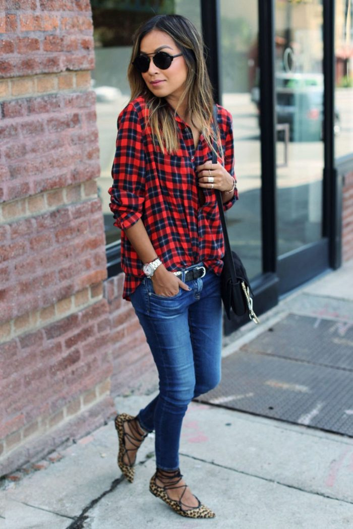 2018 Plaid Print Must Haves For Women (13)