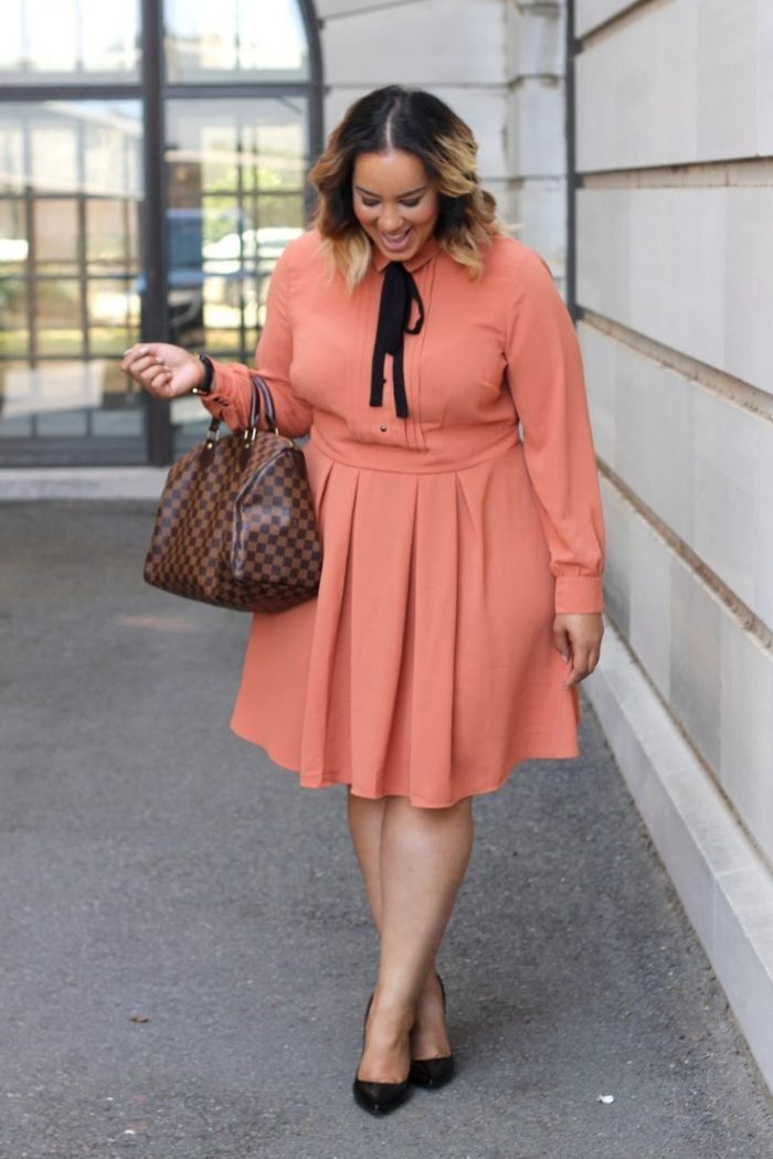 2018 Plus Size Dresses For Work And Parties (2)