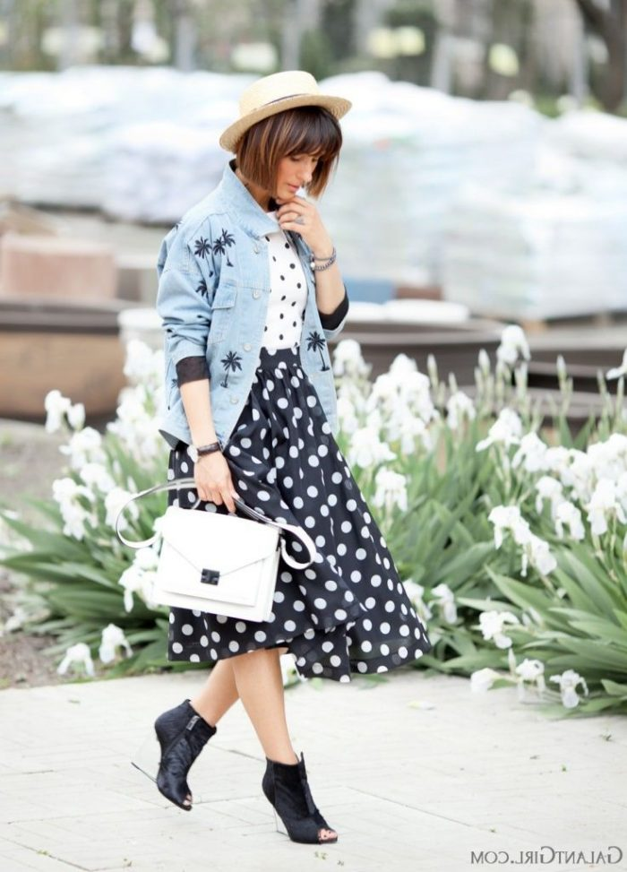 2018 Polka Dots Print Trend For Women (15)