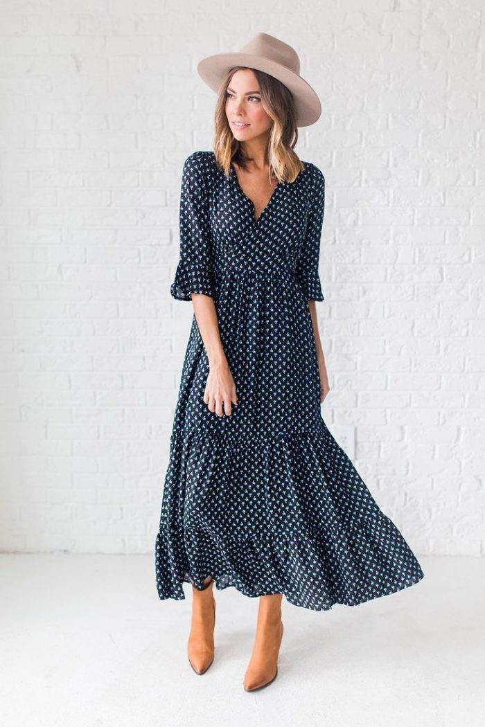 2018 Polka Dots Print Trend For Women (17)
