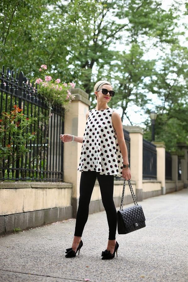 2018 Polka Dots Print Trend For Women (2)