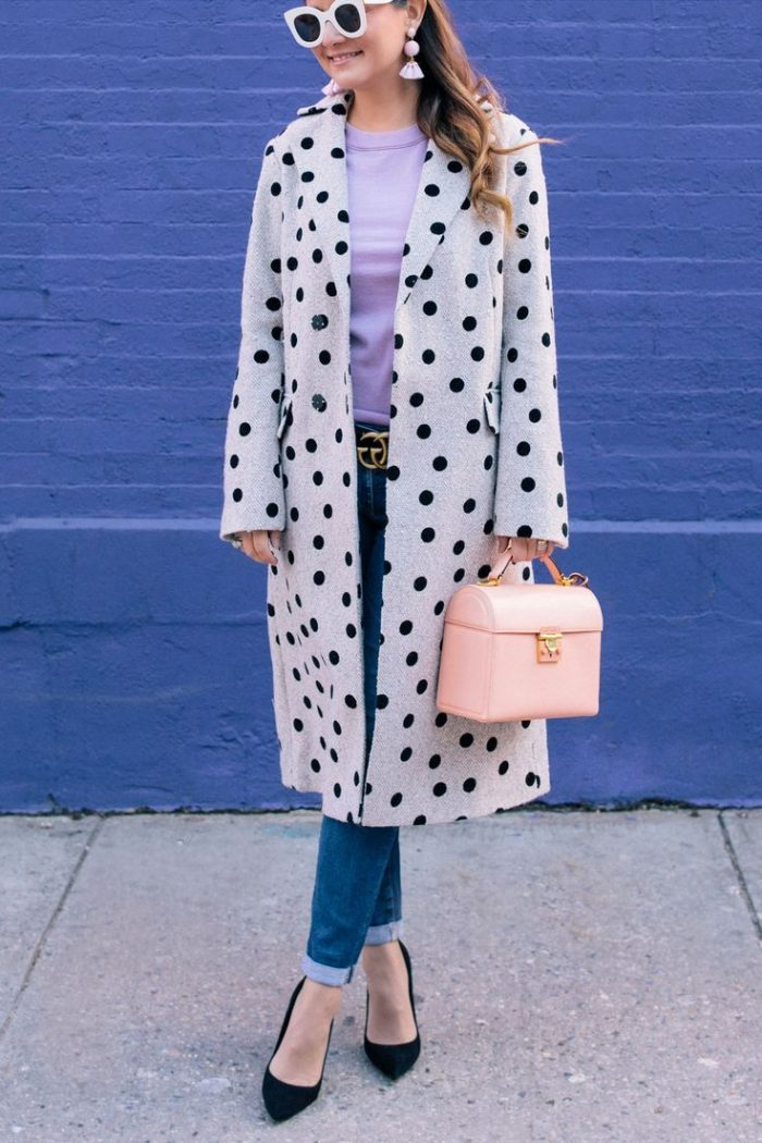 2018 Polka Dots Print Trend For Women (21)