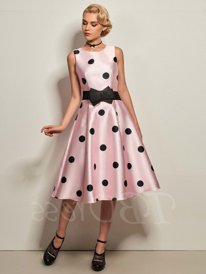 2018 Polka Dots Print Trend For Women (27)