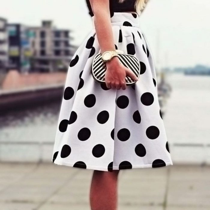 2018 Polka Dots Print Trend For Women (39)