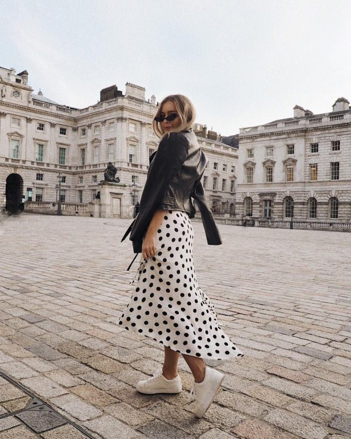 2018 Polka Dots Print Trend For Women (40)