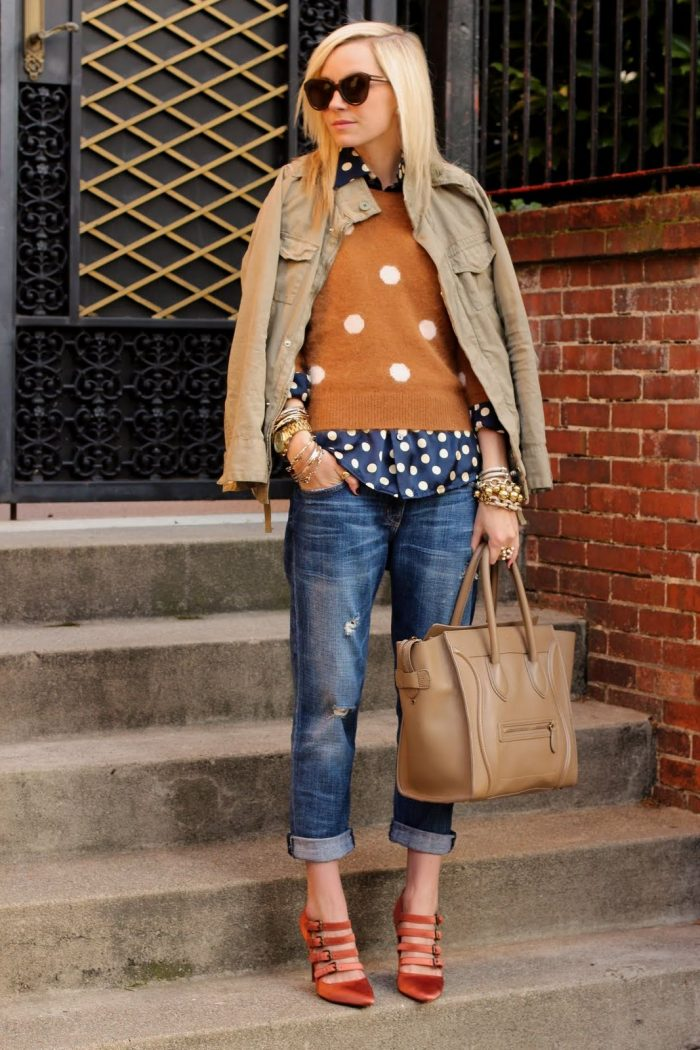 2018 Polka Dots Print Trend For Women (9)