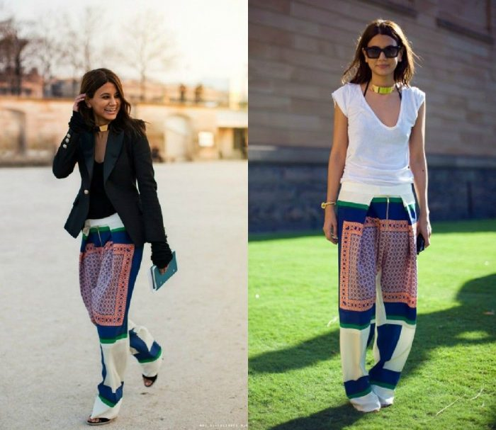 Patterned Pants and Leggings For Women 2019