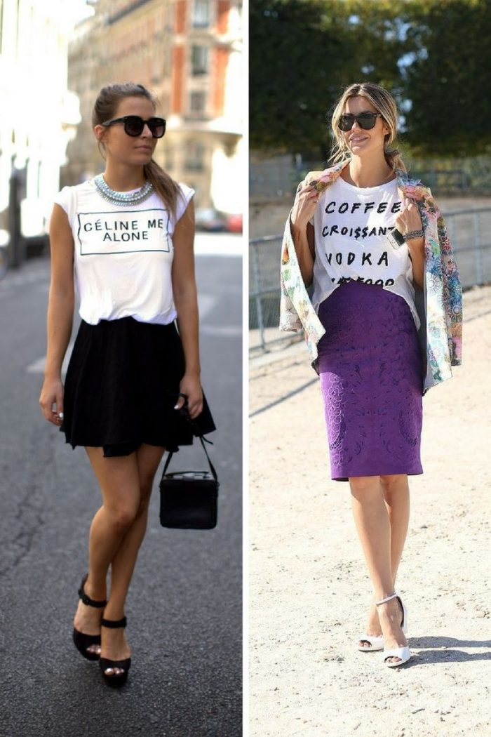 How to Wear Slogan Shirts For Women 2020