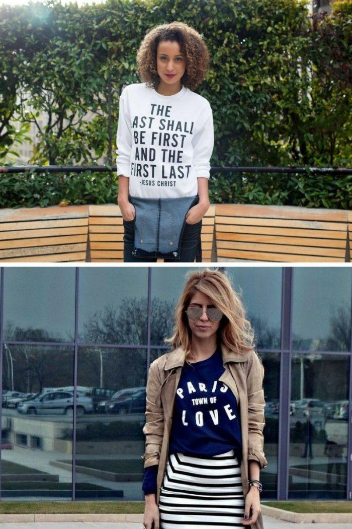 2018 Slogan Shirts For Women (6)