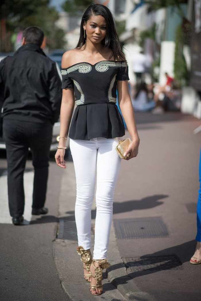 Summer White Jeans For Women 2020