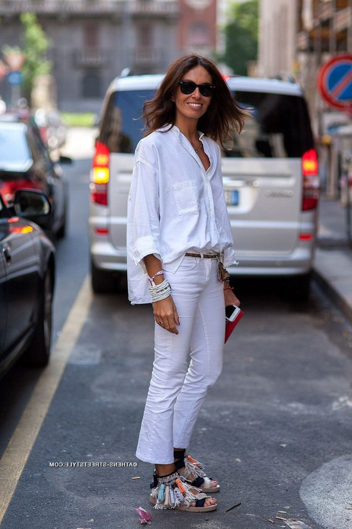 Summer White Jeans For Women 2019