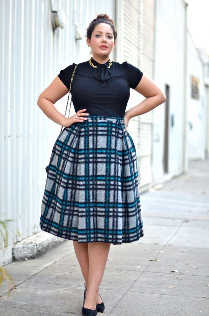 Amazing Tartan Clothes For Plus Sized Girls 2019