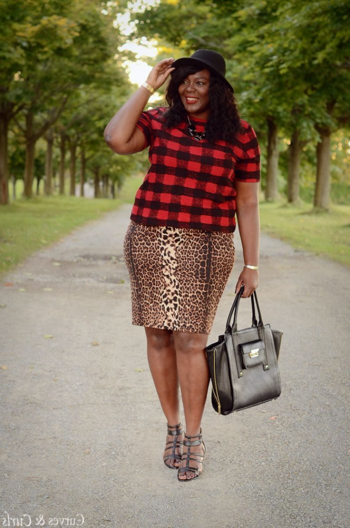 Amazing Tartan Clothes For Plus Sized Girls 2020