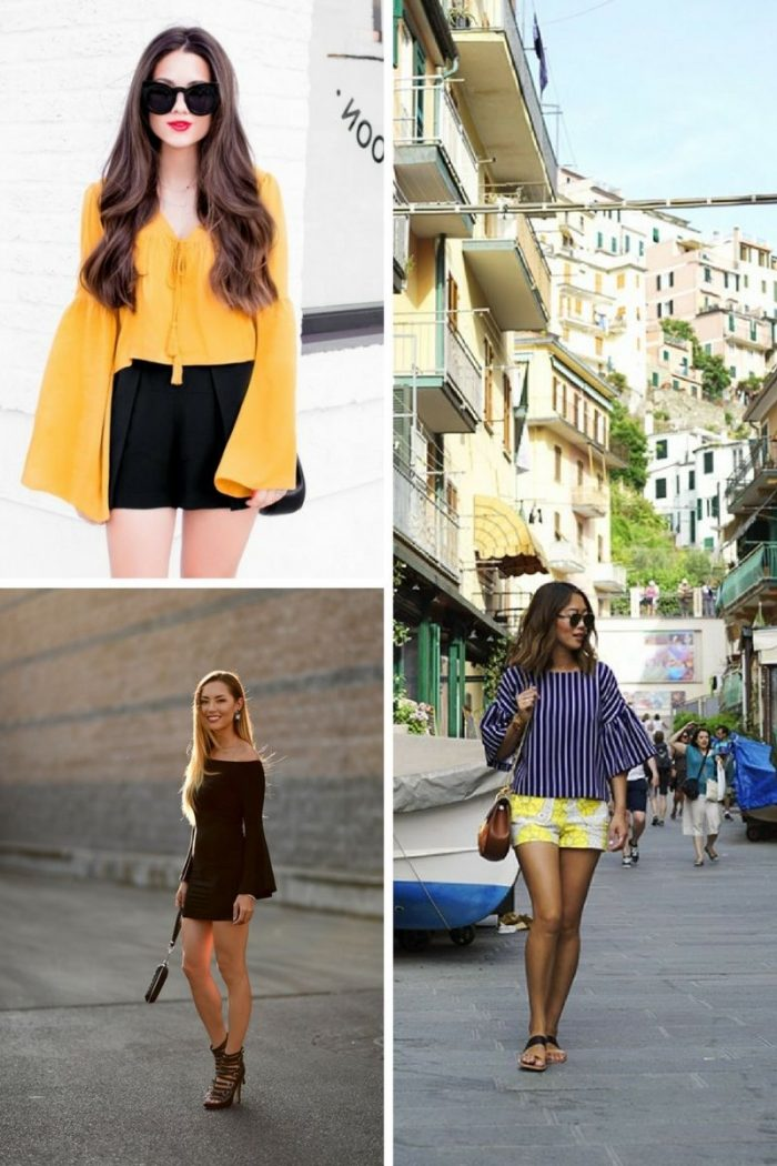 Bell Sleeves Trend 2018 See What Is Popular (5)