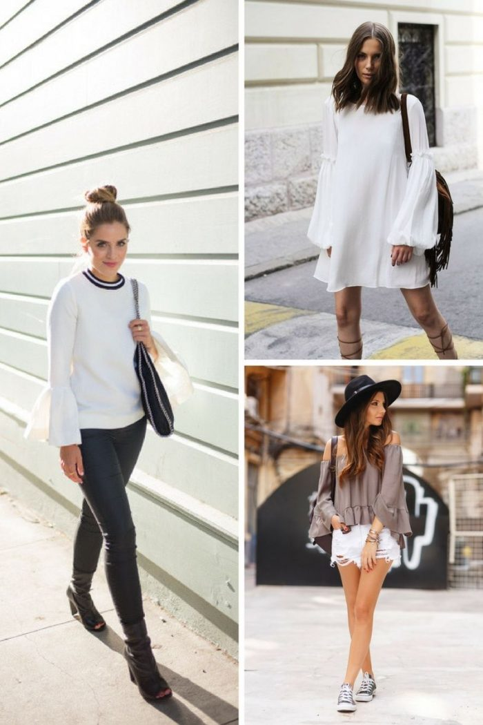 Bell Sleeves Trend 2018 See What Is Popular (6)