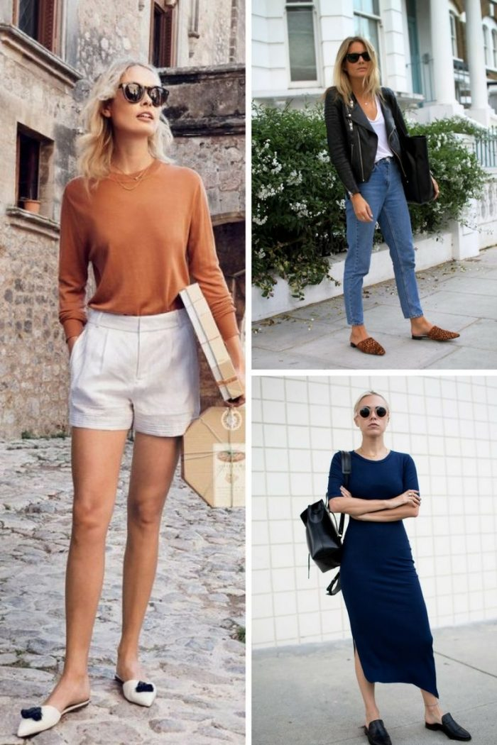 Flat Mules For Women 2018 Simple Street Looks (3)
