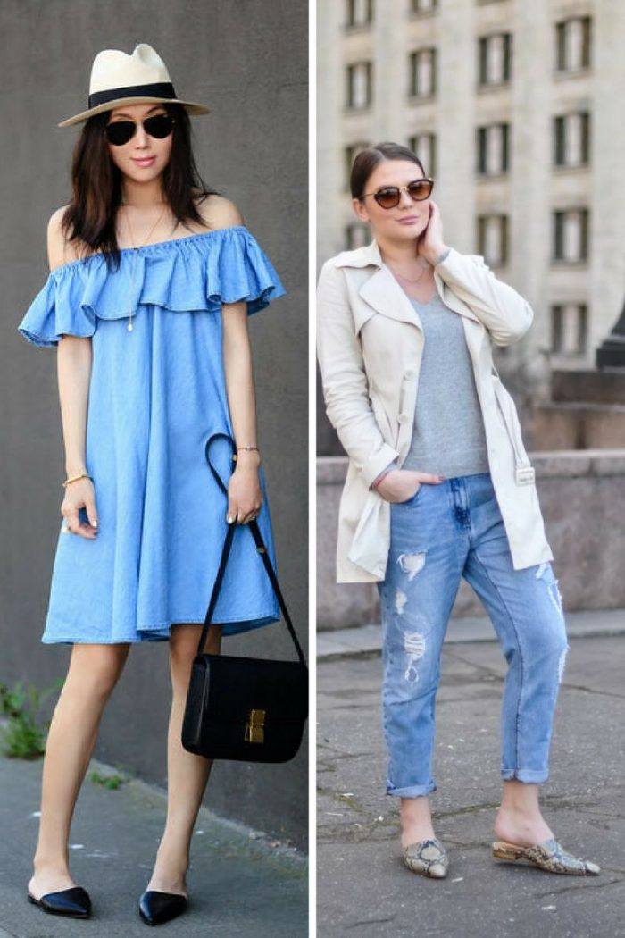 Flat Mules For Women 2018 Simple Street Looks (4)