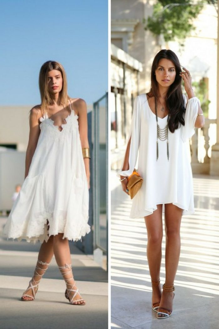 Little White Dresses 2018 Simple Ways To Wear Them (1)