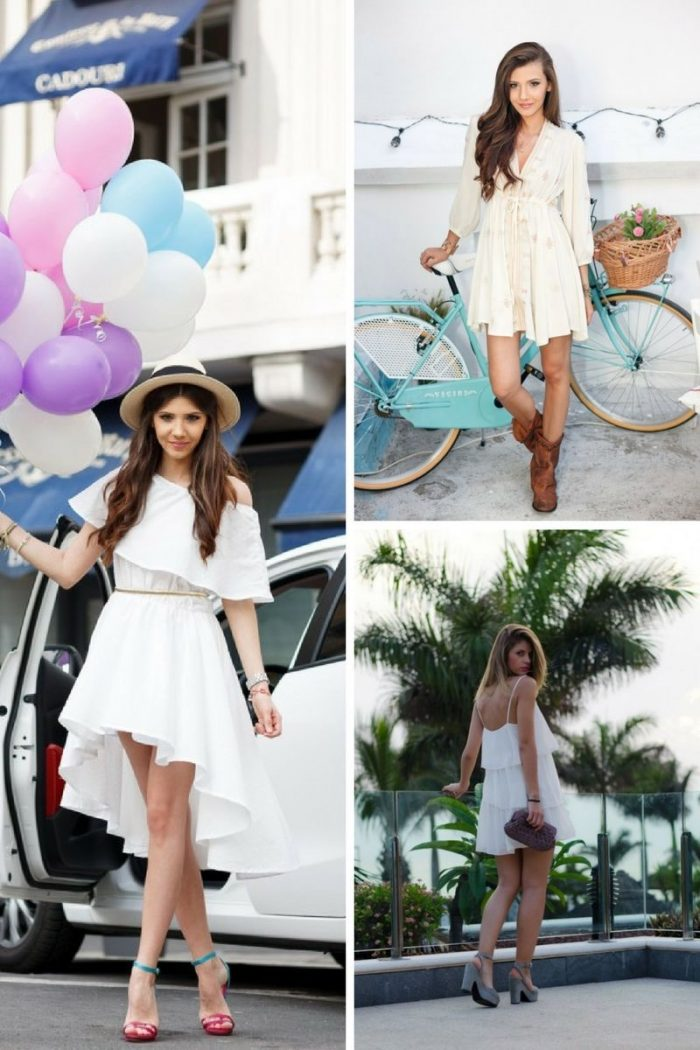 Little White Dresses 2018 Simple Ways To Wear Them (2)