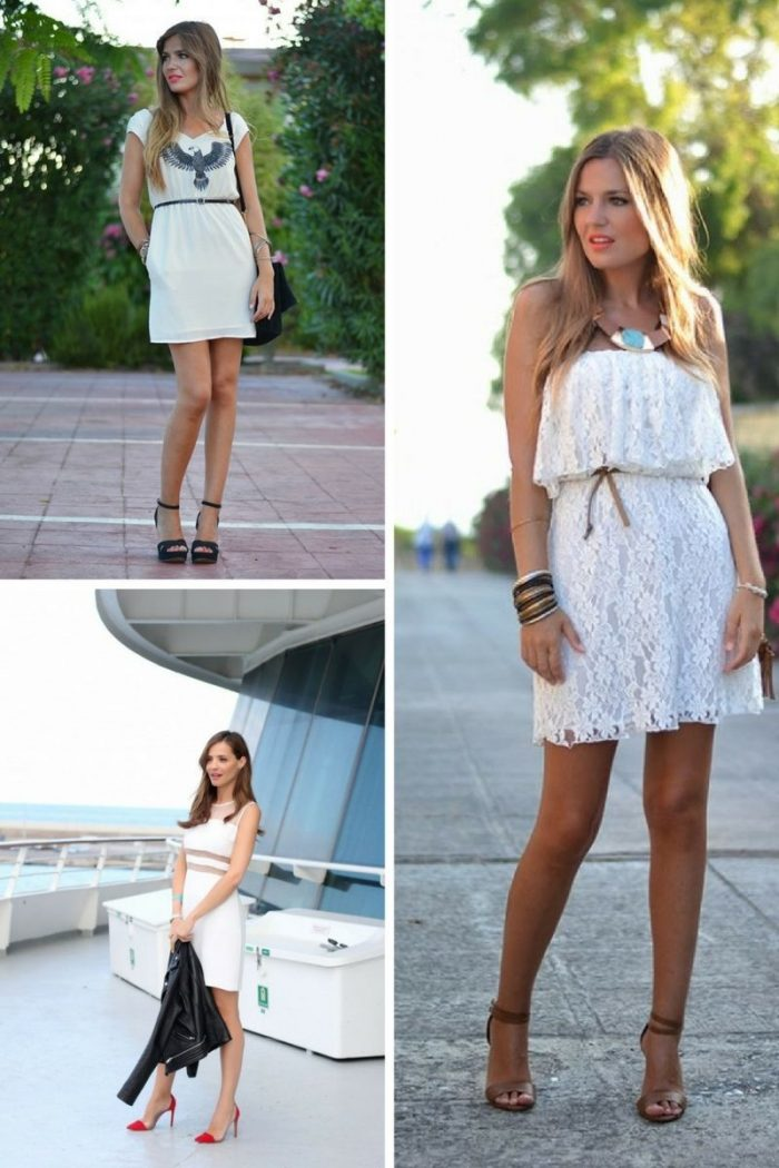 Little White Dresses 2018 Simple Ways To Wear Them (3)