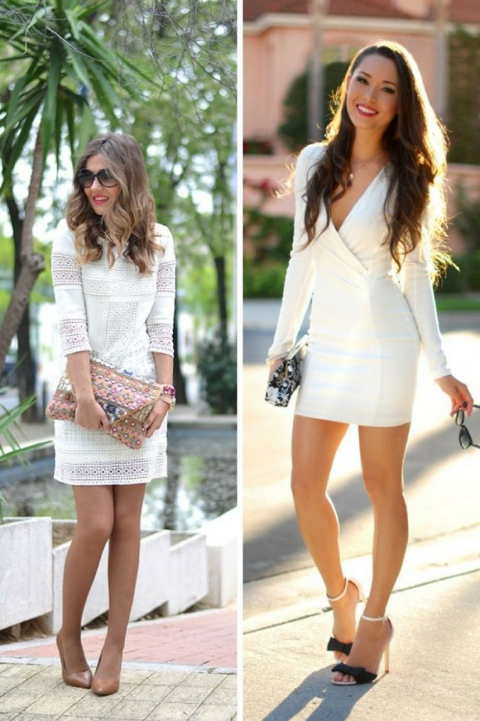 Little White Dresses 2018 Simple Ways To Wear Them (6)