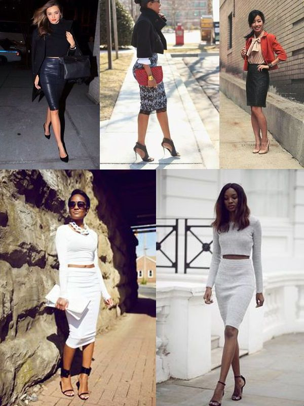Pencil Skirts For Summer (Street Style Inspiration) 2019