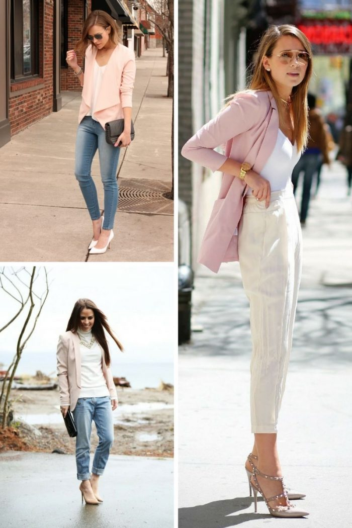 Pink Blazers For Women 2018 Great Combos (5)