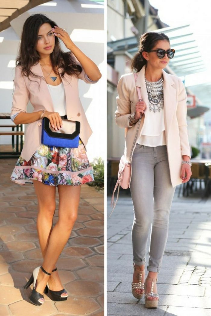 Pink Blazers For Women 2018 Great Combos (6)
