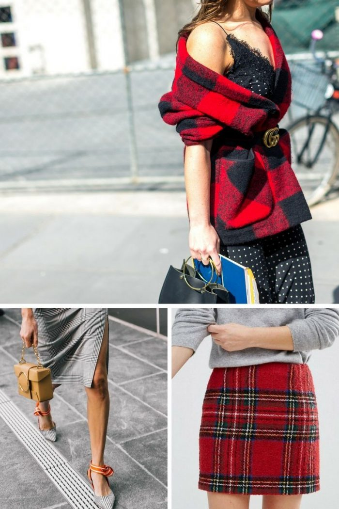 Plaid Print For Summer 2018 Easy Outfit Ideas (15)