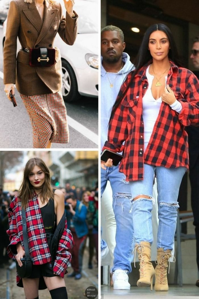 Plaid Print For Summer 2018 Easy Outfit Ideas (16)